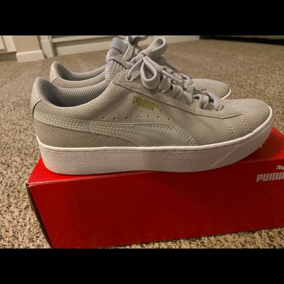 Puma Shoes | Bnwb Vikky Platform Gray